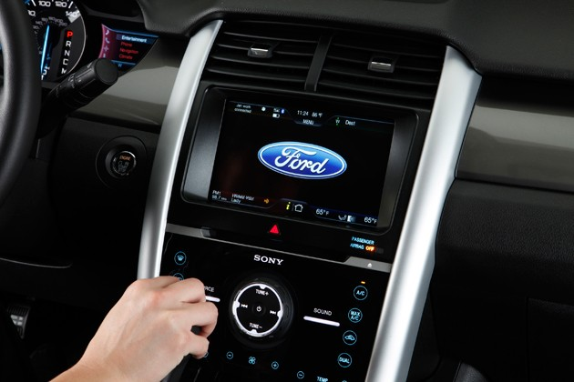 Ford Myford Touch Dashboard With Sony Audio