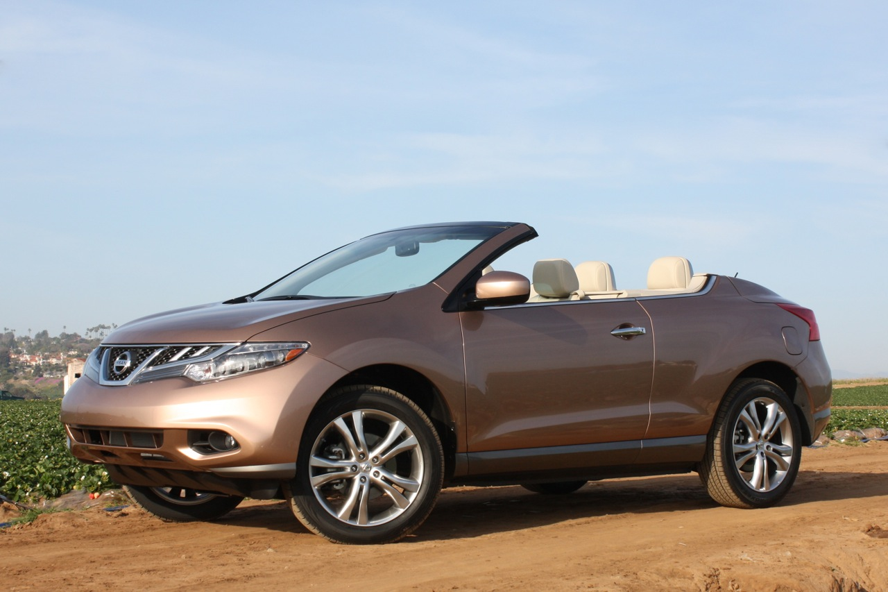nissan murano crosscabriolet being phased out no replacement planned autoblog. Black Bedroom Furniture Sets. Home Design Ideas