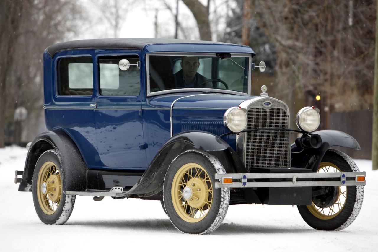 jonathan klinger 39 s 1930 ford model a tudor sedan photo. Black Bedroom Furniture Sets. Home Design Ideas