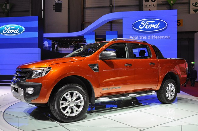 2012 Ford Ranger Wildtrak at Geneva Auto Show