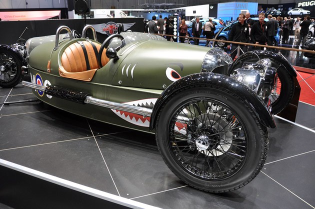 geneva 2011 morgan threewheeler is a clear best in show candidate. Black Bedroom Furniture Sets. Home Design Ideas