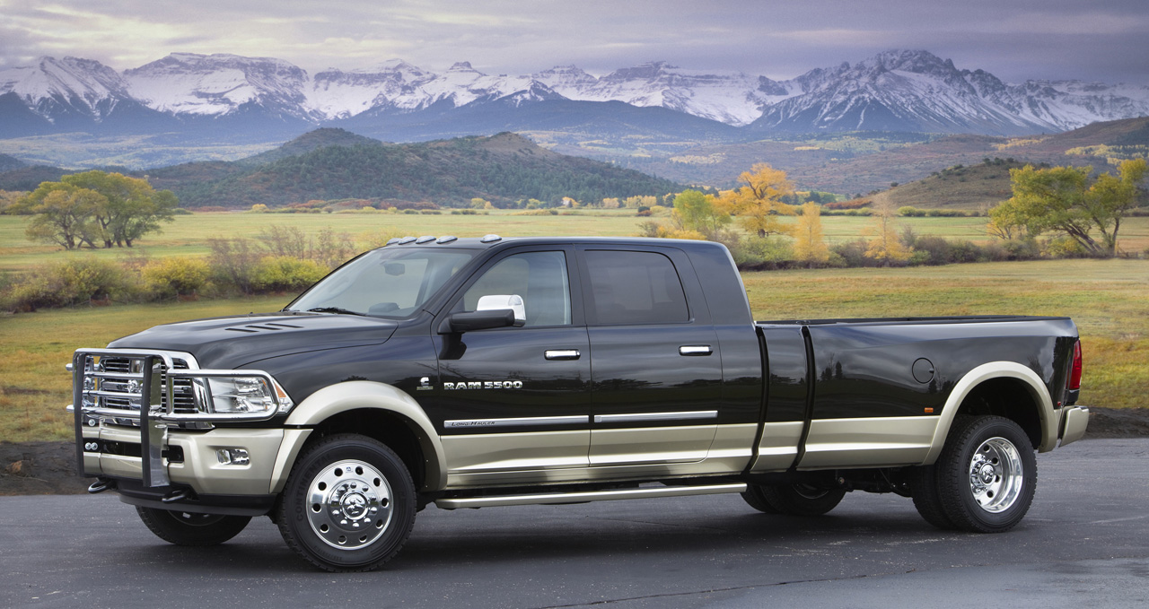 revealed - dodge ram 5500 long-hauler diesel