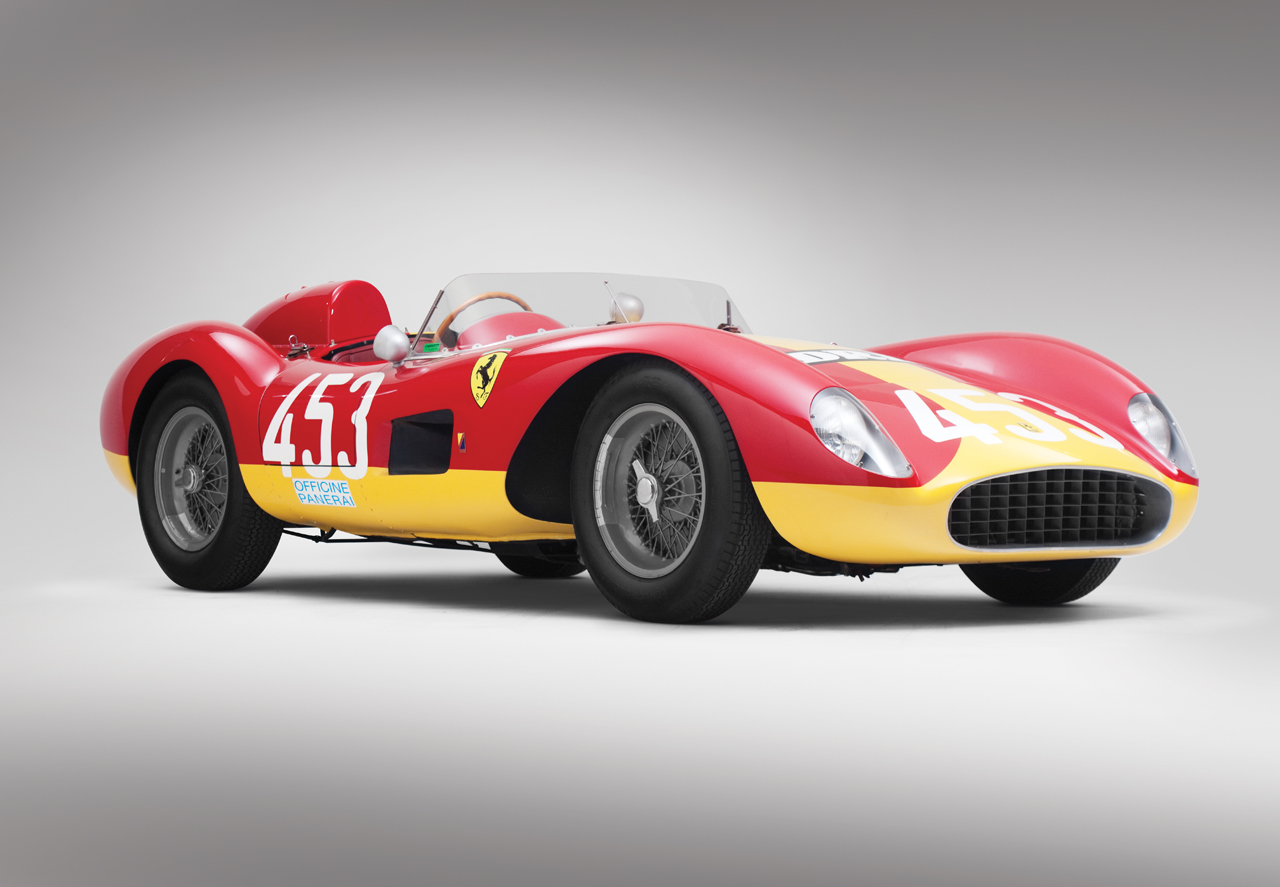 Hamilton Gas Prices >> Rare four-cylinder '57 Ferrari Testa Rossa expected to top ...