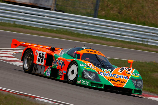 mazda 787b restored returning to le mans for 20th anniversary of win. Black Bedroom Furniture Sets. Home Design Ideas