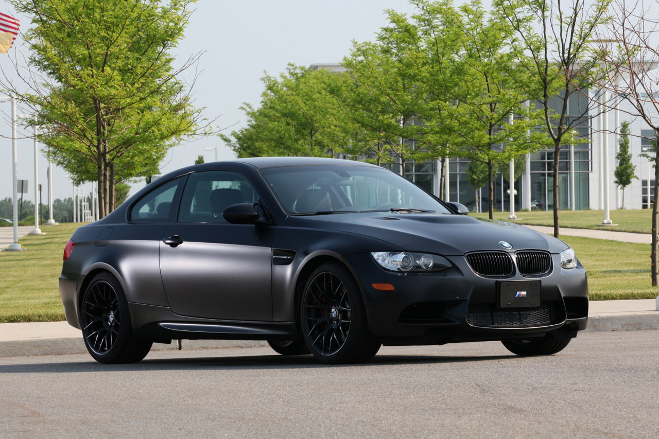 2011 Bmw M3 Frozen Black Edition Hits The U S Only 20