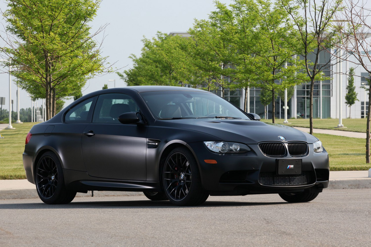 Car Paint Shops Prices >> 2011 BMW M3 Frozen Black Edition hits the U.S., only 20 examples to be produced - Autoblog