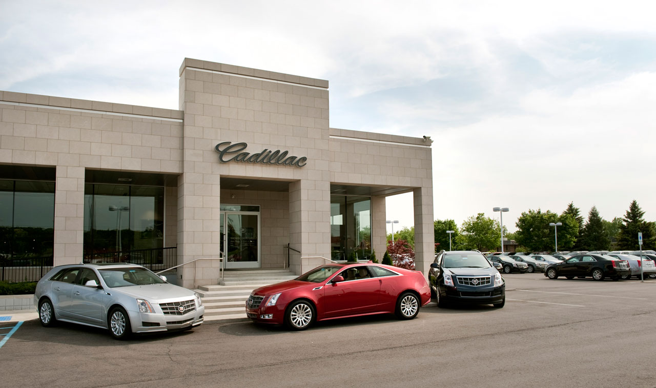 Cadillac shows off new look for showrooms - Autoblog
