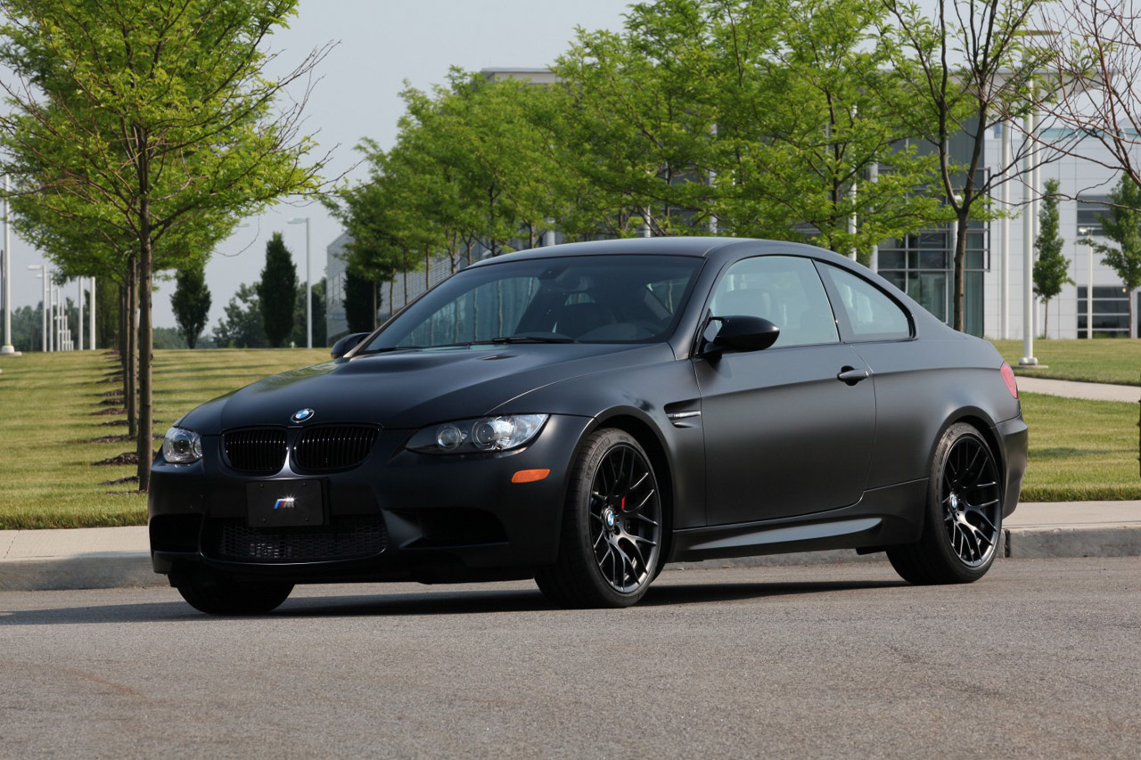 BMW Certified Pre Owned >> 2011 BMW M3 Frozen Black Edition hits the U.S., only 20 ...