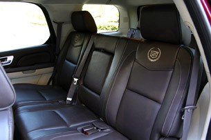 2017 Cadillac Escalade Hybrid Platinum Rear Seats