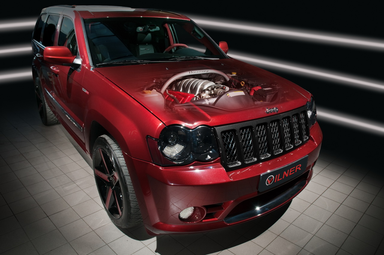 Vilner Gets American Tackles Hennessey Tuned Jeep Grand