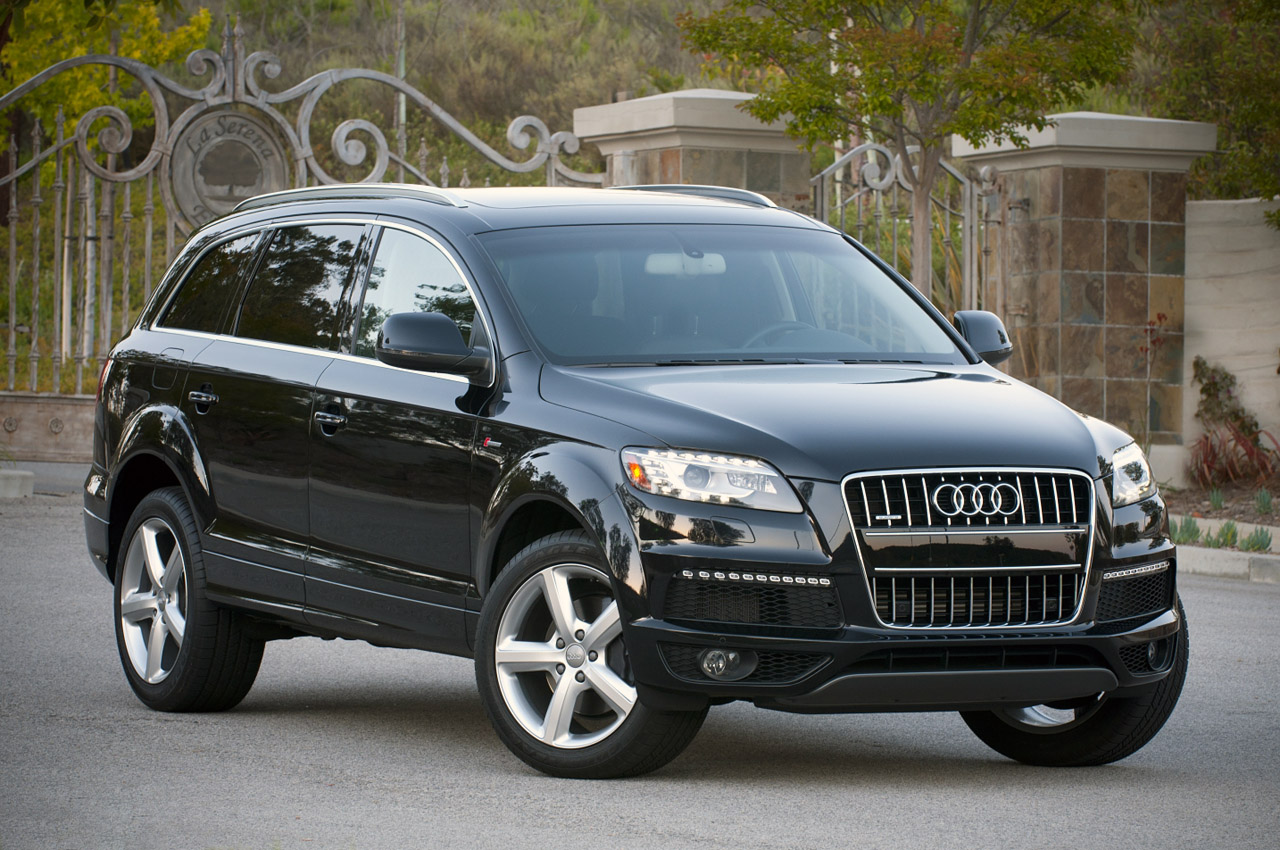 audi q7 e tron confirmed autoblog. Black Bedroom Furniture Sets. Home Design Ideas