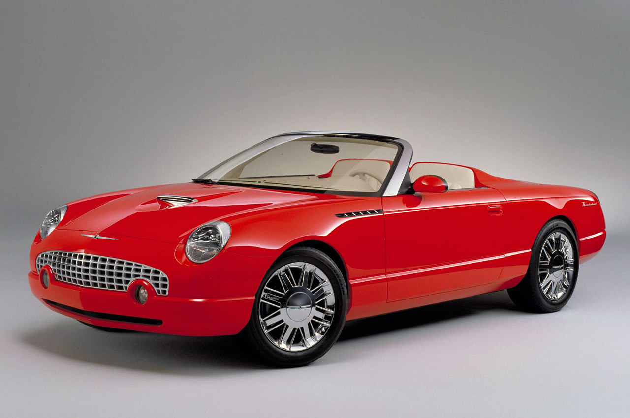 Ford Thunderbird Sports Roadster Concept Photo Gallery ...
