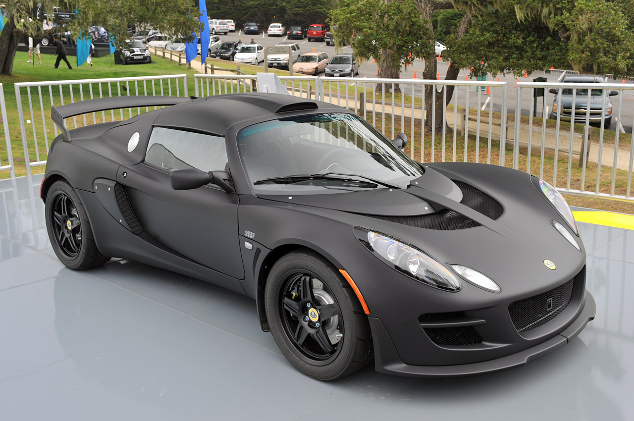 Black Book Car Values >> Lotus Exige Matte Black Final Edition makes stealthy debut - Autoblog