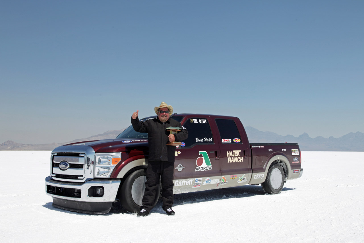 Ford Dealers Utah >> Ford F-250 Super Duty sets diesel and biodiesel land speed records | Autoblog