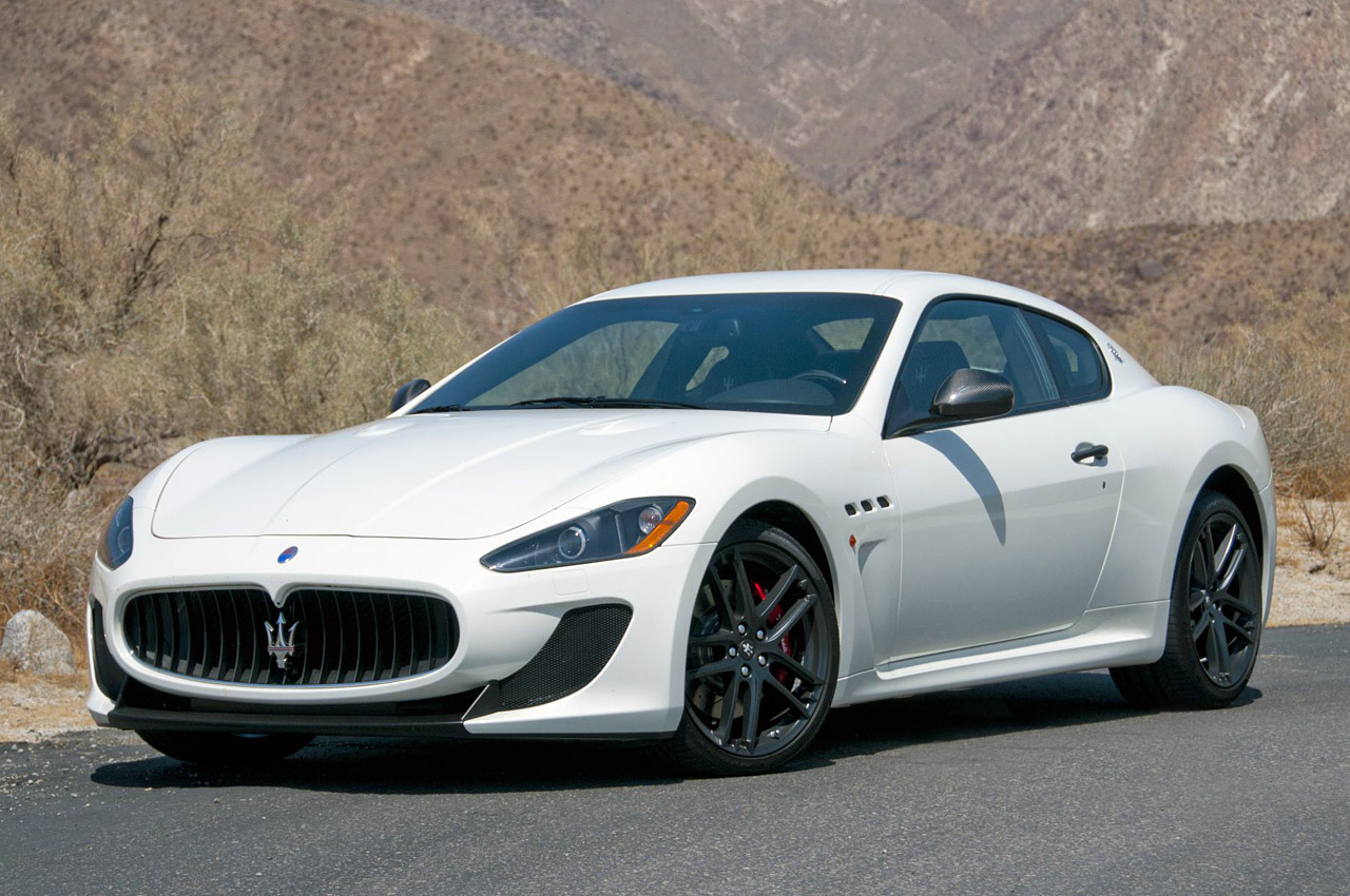 2012 Maserati Granturismo Mc And Granturismo Convertible