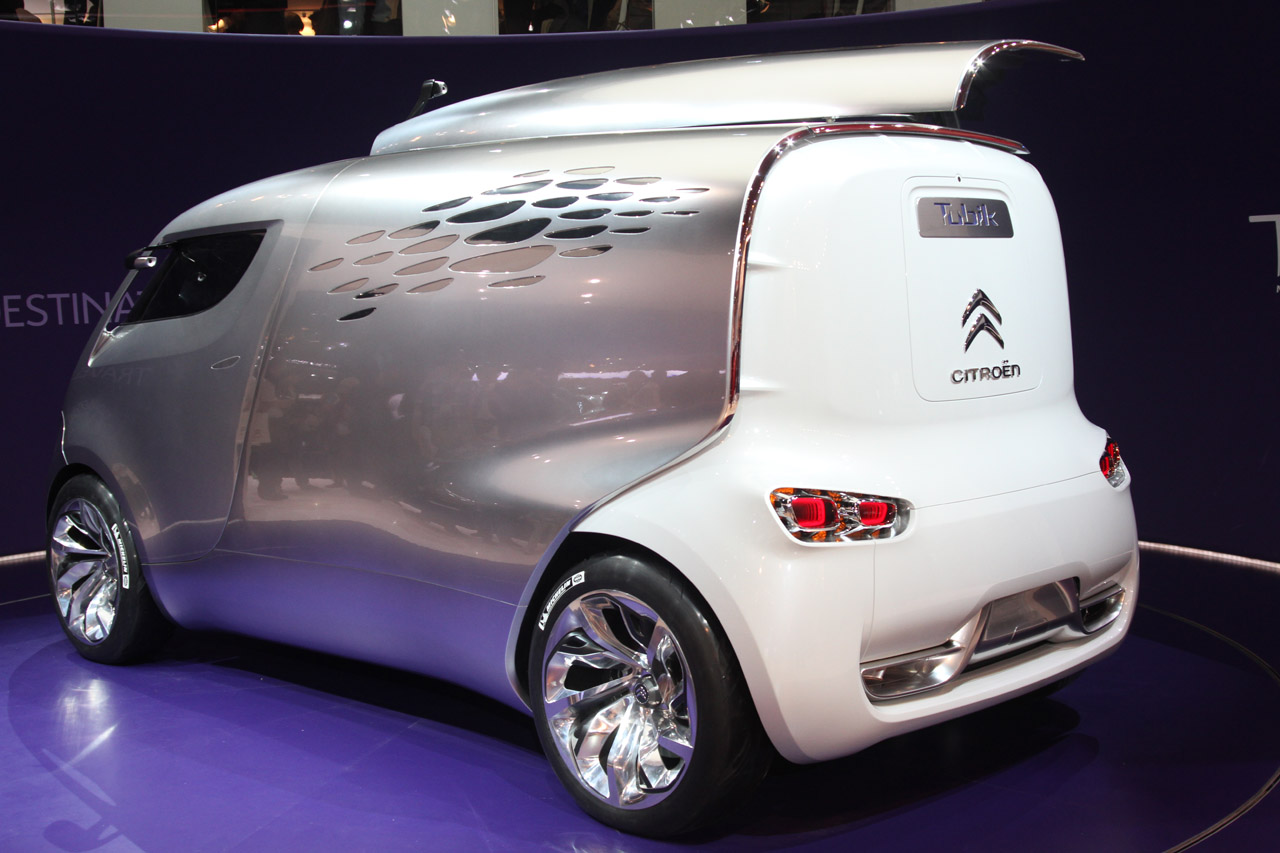 Citroën Tubik is another space Gallic oddity - Autoblog