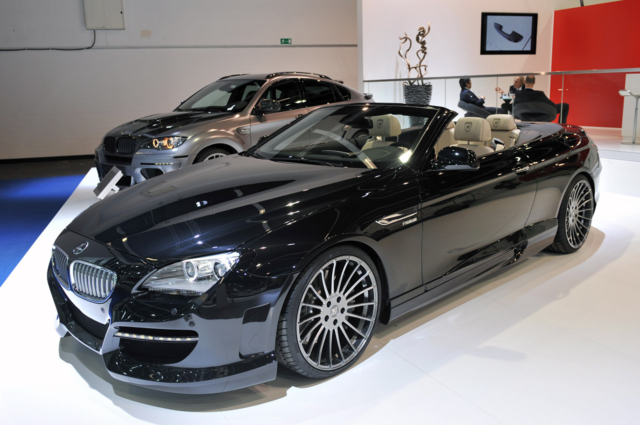hamann shows us the dark side of the bmw 6 series. Black Bedroom Furniture Sets. Home Design Ideas
