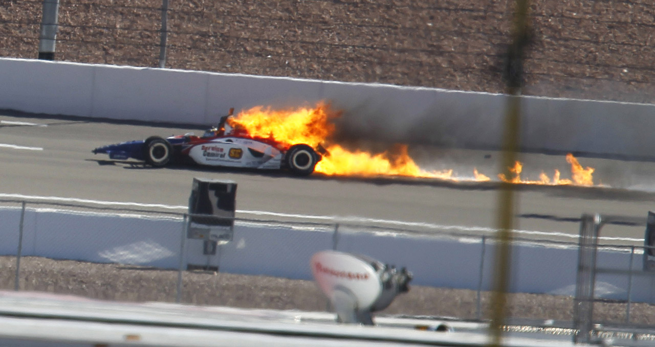 Indy Luxury Motorsports >> 15-car wreck at Las Vegas 300 Photo Gallery - Autoblog