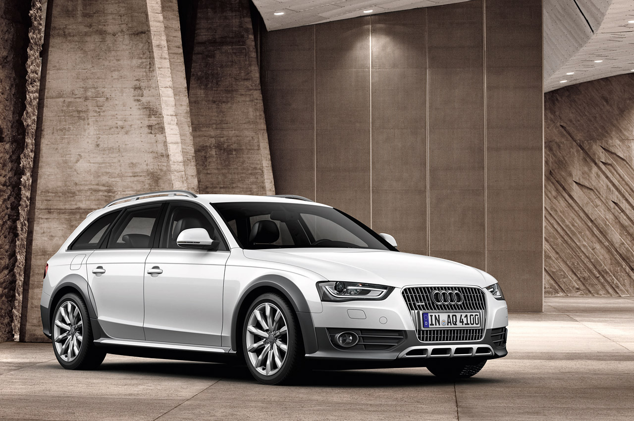 2013 audi a4 s4 and a4 allroad quattro fully revealed w. Black Bedroom Furniture Sets. Home Design Ideas