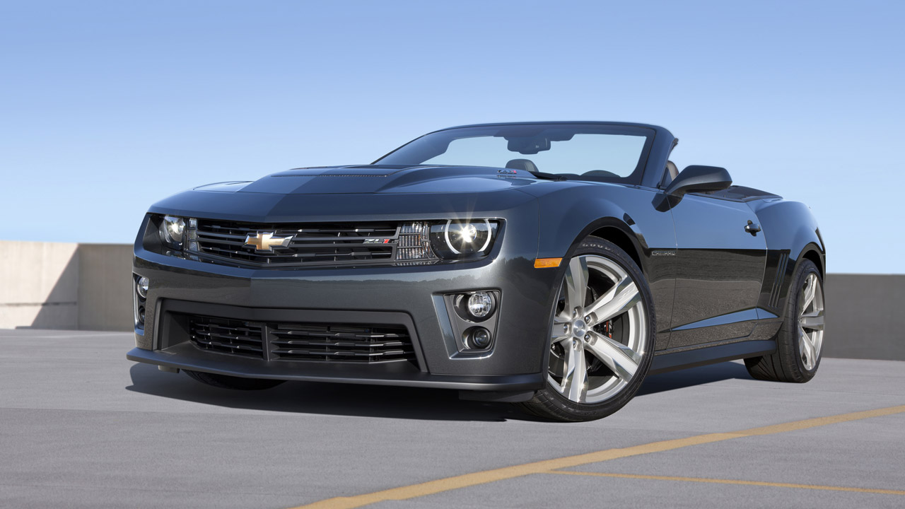 2013 Chevrolet Camaro ZL1 Convertible to debut at Los ...2013 Camaro Zl1 Convertible