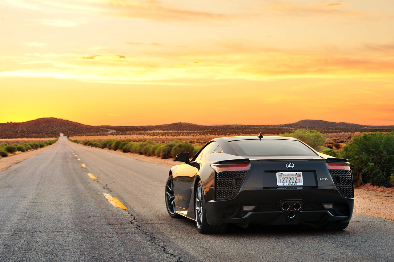 Lexus Certified Pre Owned >> Lexus LFA owner gets town to remove speed bump - Autoblog