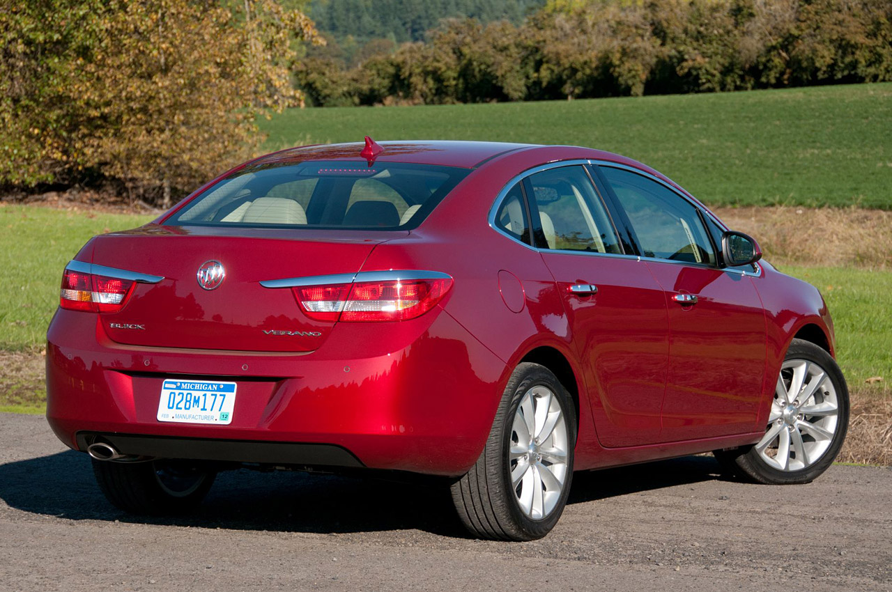 2012 Buick Verano: First Drive Photo Gallery