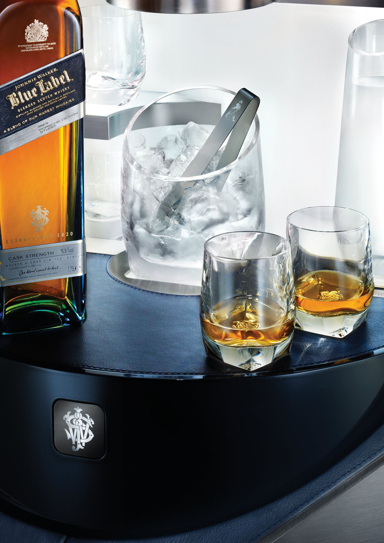Porsche Design Raises The Bar With Johnnie Walker Blue