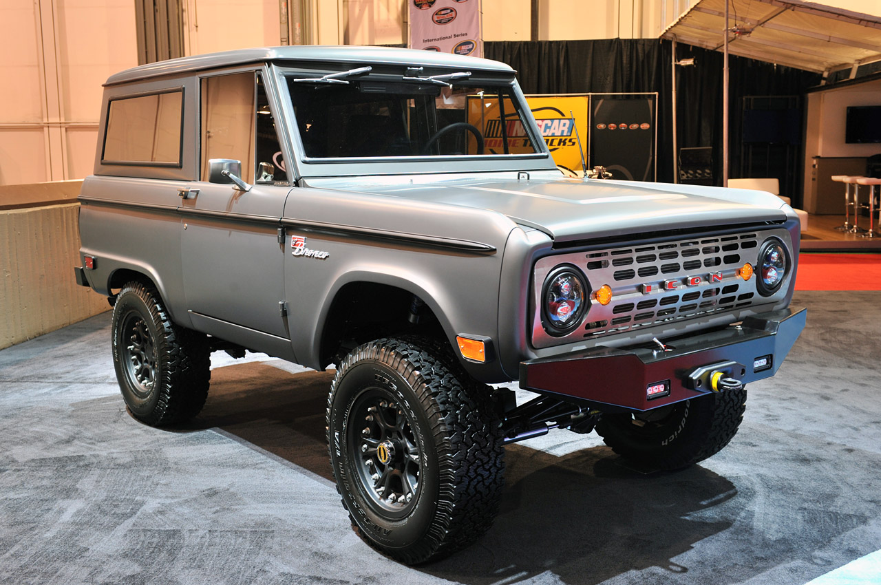 Icon Bronco Makes Drool-worthy Official Debut