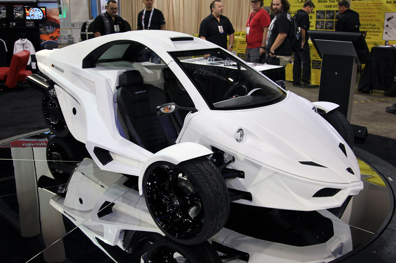 3 Wheel Car T Rex For Sale >> Invader TC-3 looks better in white | Autoblog