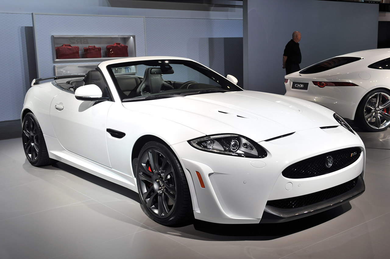 2012 jaguar xkr s convertible is fast expensive and already sold out autoblog. Black Bedroom Furniture Sets. Home Design Ideas