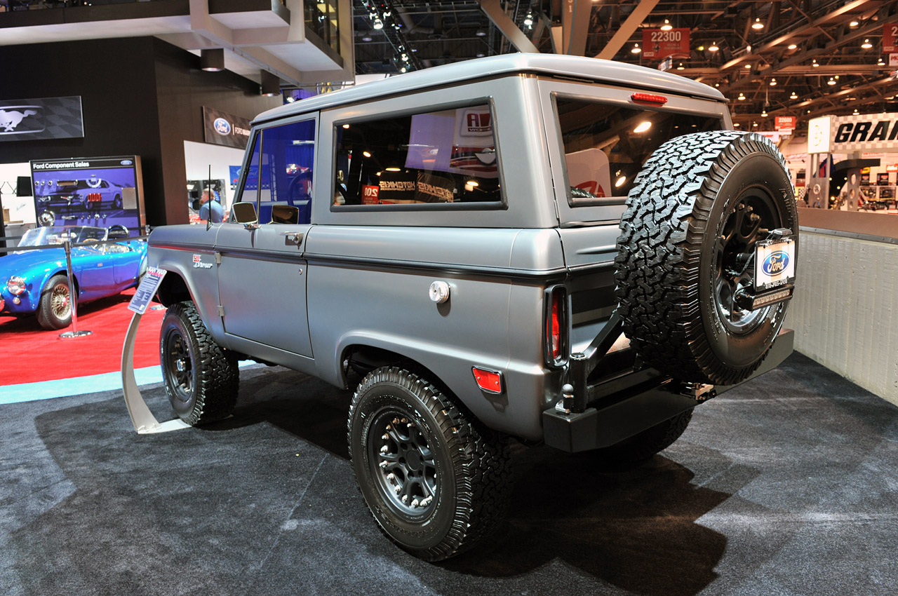 Icon Bronco Makes Drool Worthy Official Debut Autoblog
