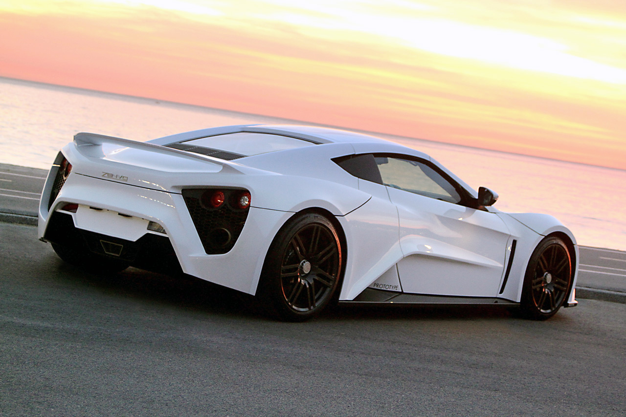 Zenvo St 1 W Video Autoblog