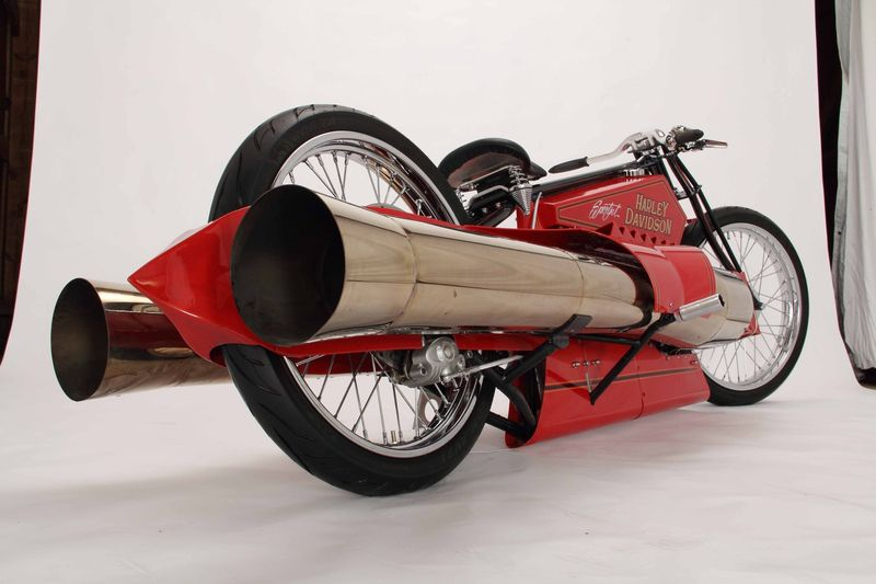 Harley Davidson Motorcycle Values >> eBay Find of the Day: Twin jet-engine board track Harley-Davidson - Autoblog