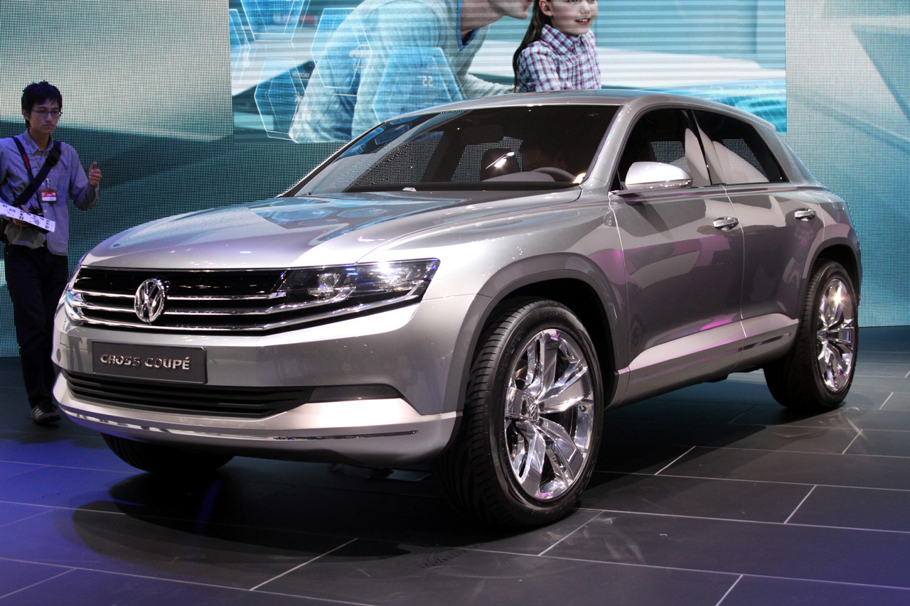 Volkswagen Cross Coupe Concept Looks Slick Is Not A Coupe