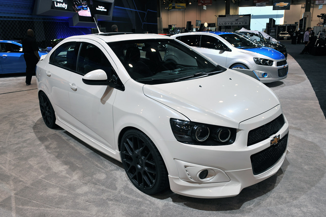 SEMA 2011: Chevrolet Sonic Customs and Concepts Photo Gallery ...