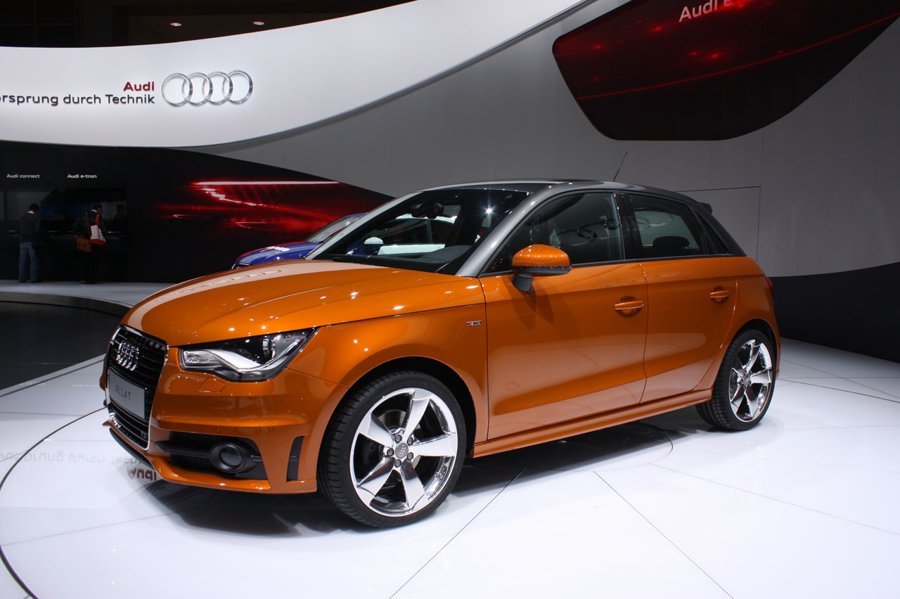 audi a1 sportback five door photo gallery autoblog. Black Bedroom Furniture Sets. Home Design Ideas