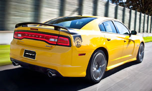 Included In The Charger Super Bee Package For 2017 Either Yellow Or Black Motifs Is A Full Sticker And Stripe Highlighting Helmeted