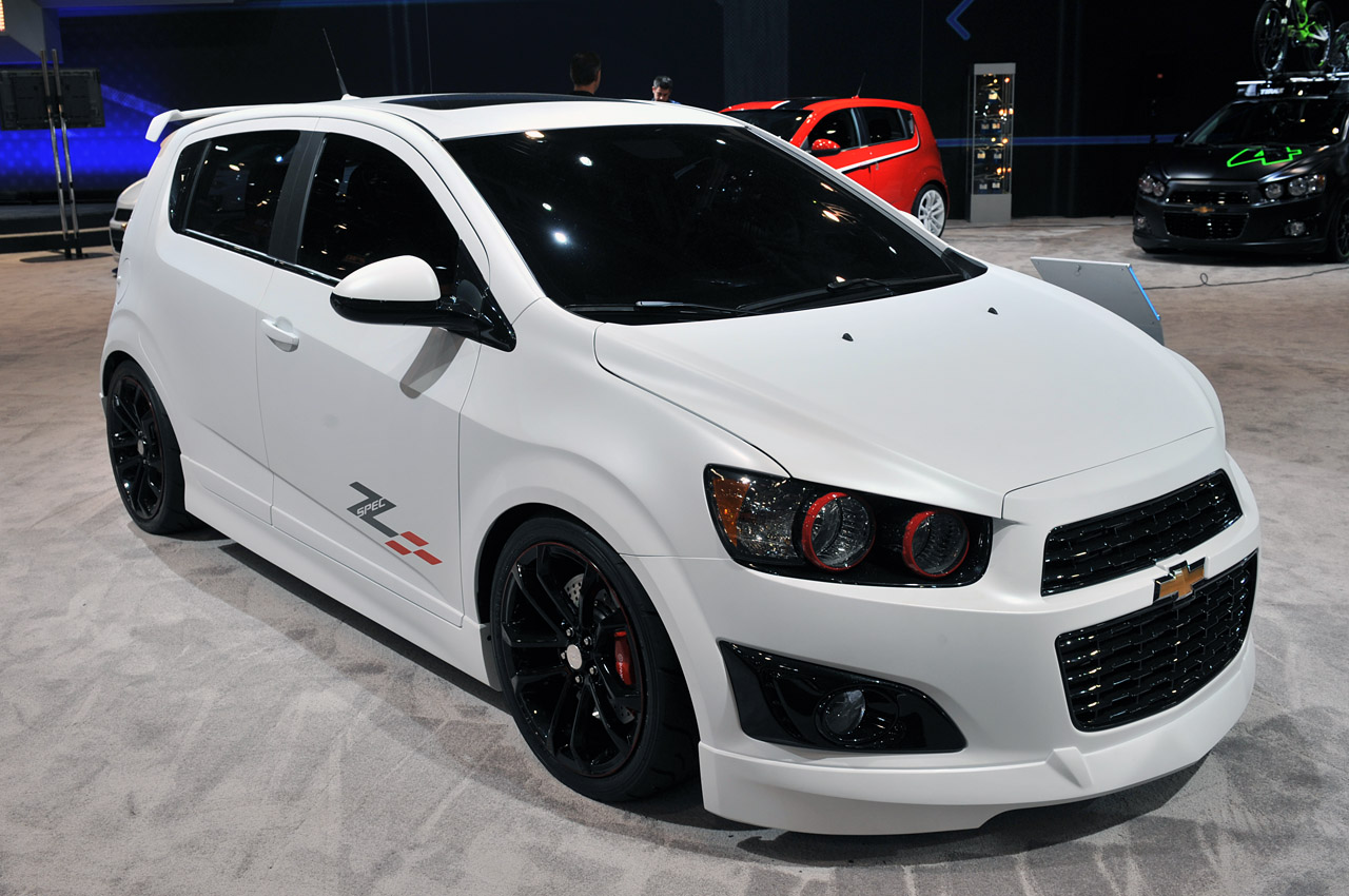 SEMA 2011: Chevrolet Sonic Customs and Concepts Photo ...