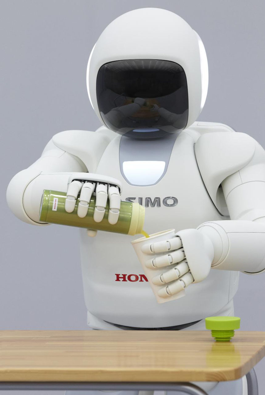 Pre Owned Cars >> Honda's new ASIMO robot can now pour you a drink all on its own [w/video] - Autoblog