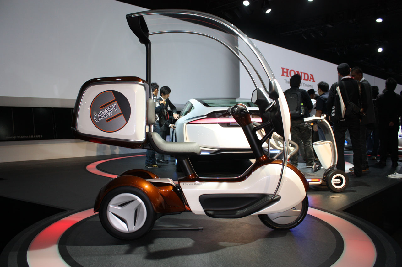 Honda E Canopy Is Mobility Minded Trike Autoblog