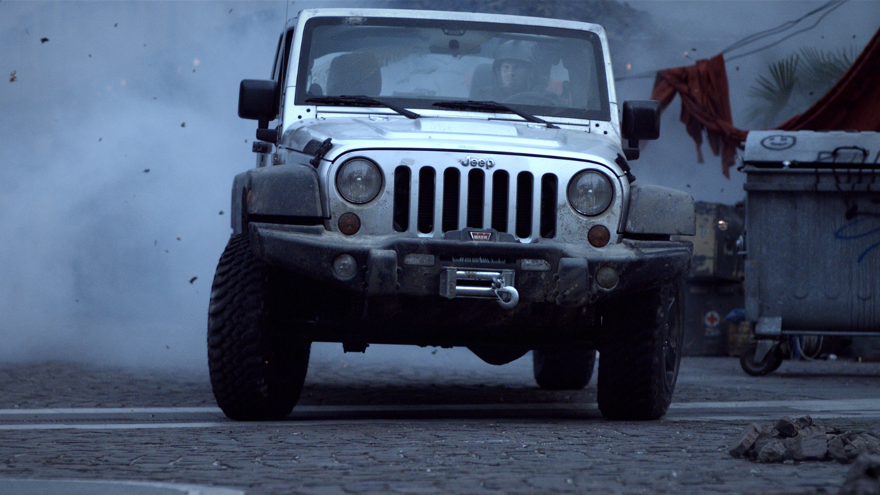 Jeep Wrangler Call Of Duty Mw3 Special Edition Campaign Photo