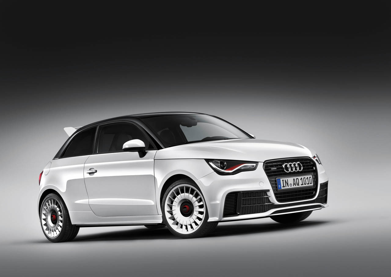 Audi Certified Pre Owned >> Audi creates limited edition, 252-hp A1 Quattro - Autoblog