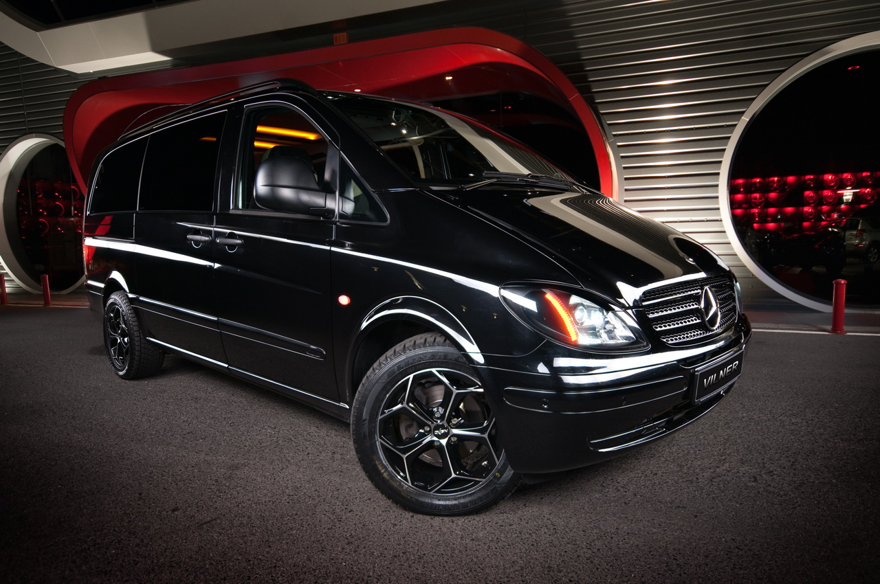 Mercedes Certified Pre Owned >> Vilner classes up the Mercedes-Benz Vito | Autoblog