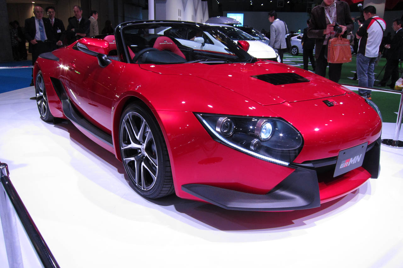 Certified Pre Owned Lexus >> MR2 lives on with Toyota GRMN Sports Hybrid Concept II - Autoblog