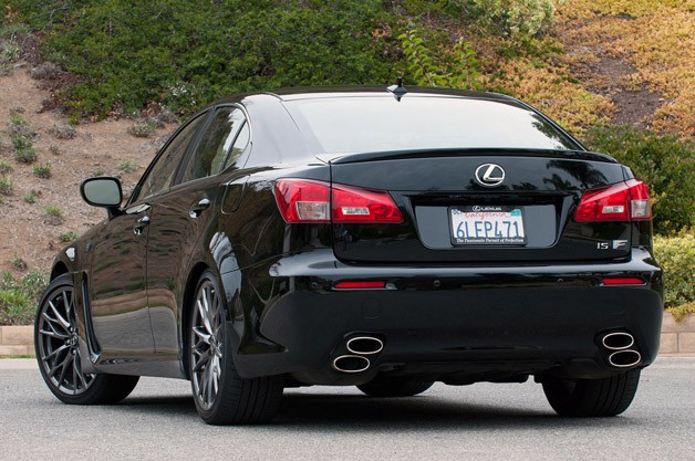 2011 lexus isf review