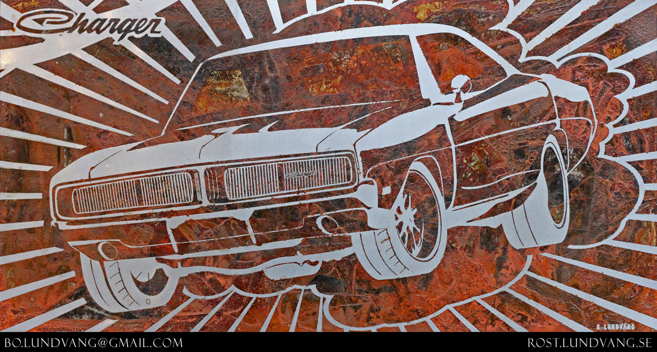 2012 Dodge Charger For Sale >> Artist uses rust as brush to paint cars - Autoblog