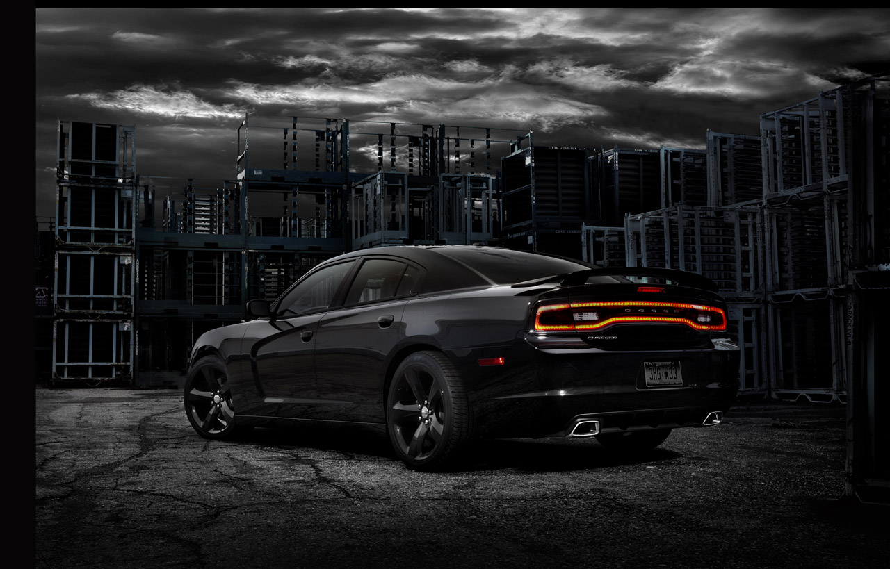 Black Book Car Values >> 2012 Dodge Charger Blacktop goes stealth at CES | Autoblog