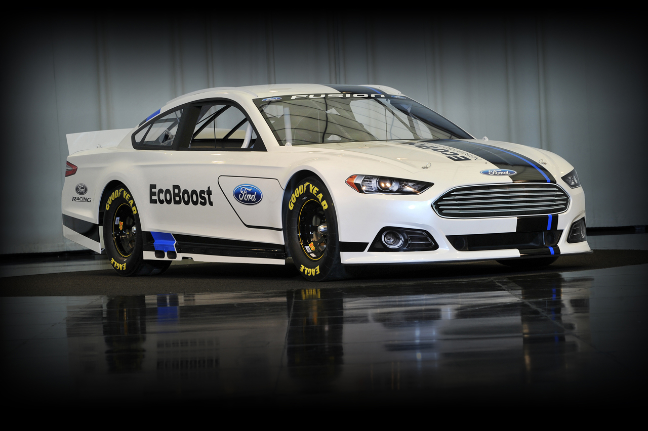 2013 Ford Fusion For Sale >> Ford reveals fresh new face for its 2013 Fusion NASCAR ...