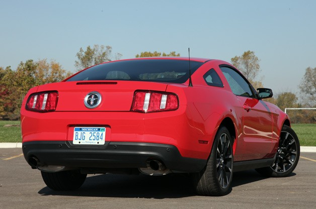 2012 Ford Mustang Information Autoblog