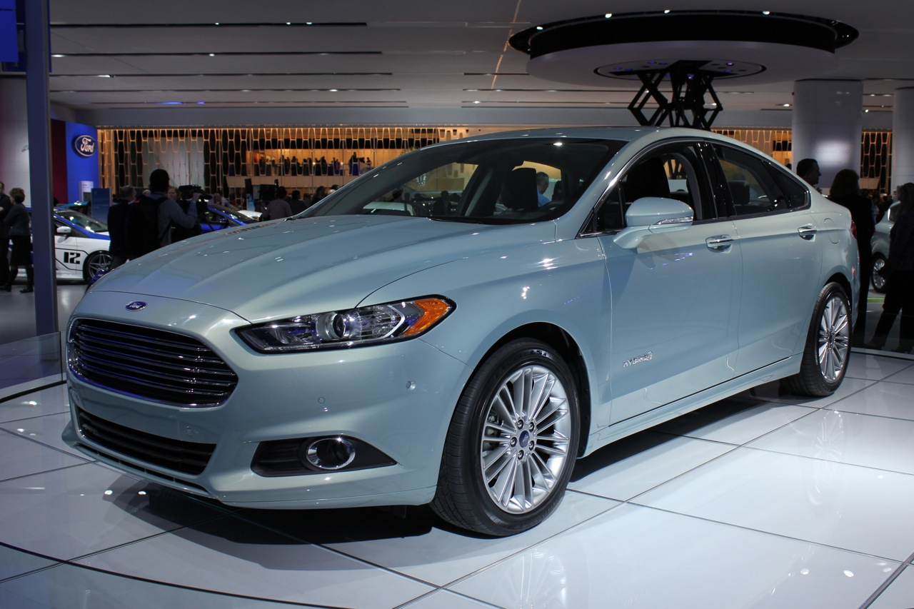 2013 ford fusion hybrid detroit 2012 photos photo gallery autoblog